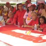 Enmnanuel Pulgar celebra el 481 aniversario de la Fundación de la Ciudad de Maracaibo (Foto Maria Muñoz)