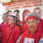 Enmanuel Pulgar, Noeli Pocaterra y Rodrigo Cabezas