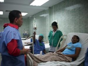 Visita de Enmanuel Pulgar al CDI 18 de Octubre - Parroquia Coquivacoa (Foto María Muñoz)