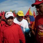Caminata de Enmanuel Pulgar en Cierre de Campaña en la Parroquia Coquivacoa (Foto María Muñoz)
