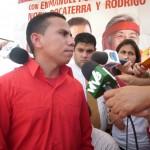 Entrevista a Enmanuel Pulgar  30-08-2010 (Foto María Muñoz)