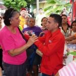 Enmanuel Pulgar en jornada Social haciendo entrega de implementos deportivos y ayudas técnicas para personas con discapacidad